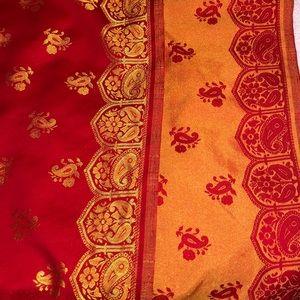 Bohemian scarf